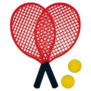 Soft-Tennis - 4er Set