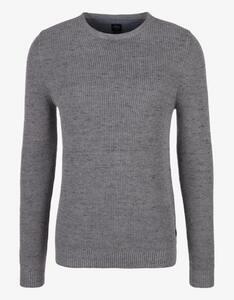 s.Oliver - Melierter Baumwoll-Pullover
