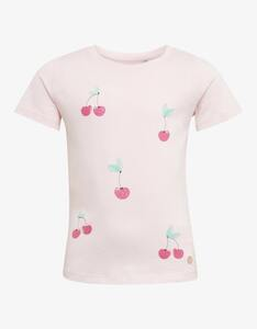 Mini Girls T-Shirt mit Kirschprint