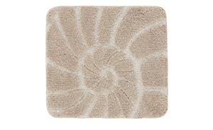 Kleine Wolke Badteppich  Muschel - beige - 100% Polyester - 50 cm - Heimtextilien