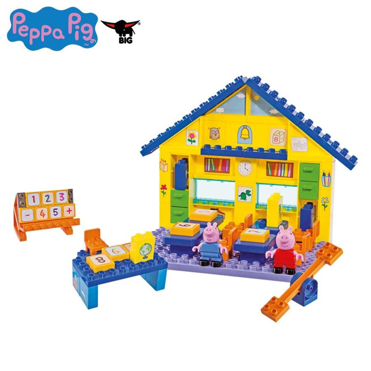 Bild 1 von BIG Bloxx Peppa Pig School Construction-Set 87-teilig