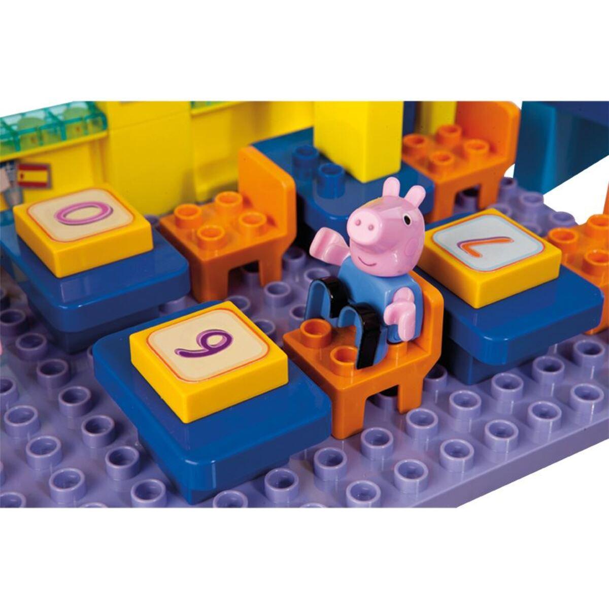 Bild 2 von BIG Bloxx Peppa Pig School Construction-Set 87-teilig