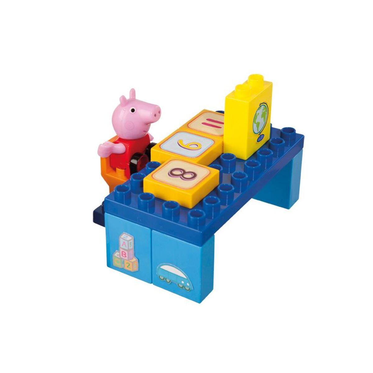 Bild 3 von BIG Bloxx Peppa Pig School Construction-Set 87-teilig