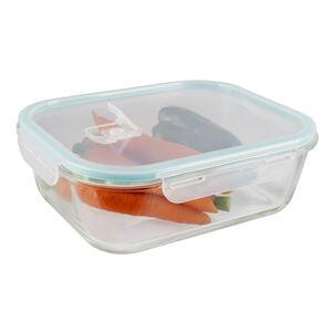 Glas-Frischhaltedose mit Deckel Eckig 2,26L