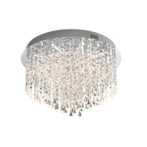 B-Leuchten LED Deckenlampe PALACE chromfarbig