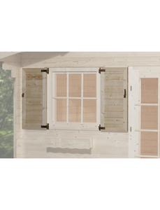 Fensterladen für Gartenhäuser, Holz
