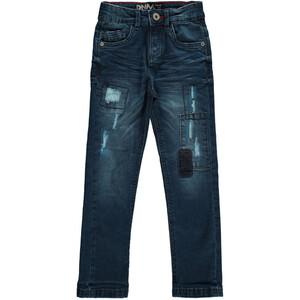 Jungen Jeans mit Destroyed Effekten