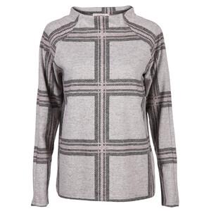 Damen Sweatshirt im Karolook