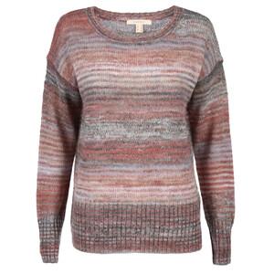 Damen Pullover im Streifendessin