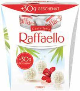Raffaello + 30 g geschenkt