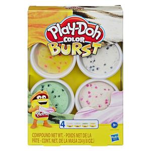 Play-Doh Color Burst 4er-Pack