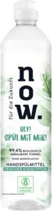 Für die Zukunft NOW. Frischer Eukalyptus Geschirrspülmittel