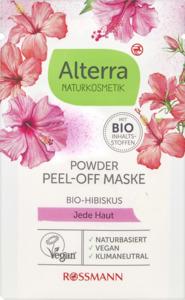 Alterra NATURKOSMETIK Powder Peel-Off Maske Bio-Hibiskus
