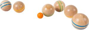 IDEENWELT Holz-Boule-Set