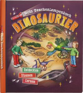 IDEENWELT Taschenlampenbuch Dinosaurier