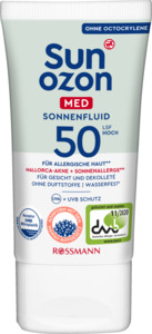 Sunozon Med Sonnenfluid LSF 50