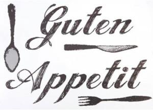 Wandtattoo Guten Appetit