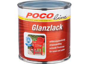 Glanzlack 2 in 1 silbergrau (RAL 7001) 250 ml