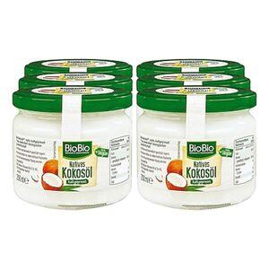 BioBio Kokosöl 250 ml, 6er Pack