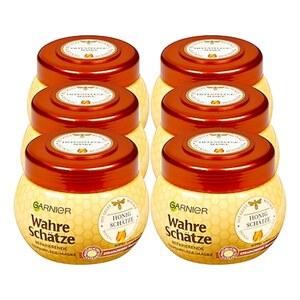 Garnier Wahre Schätze Haarkur Honig 300 ml, 6er Pack