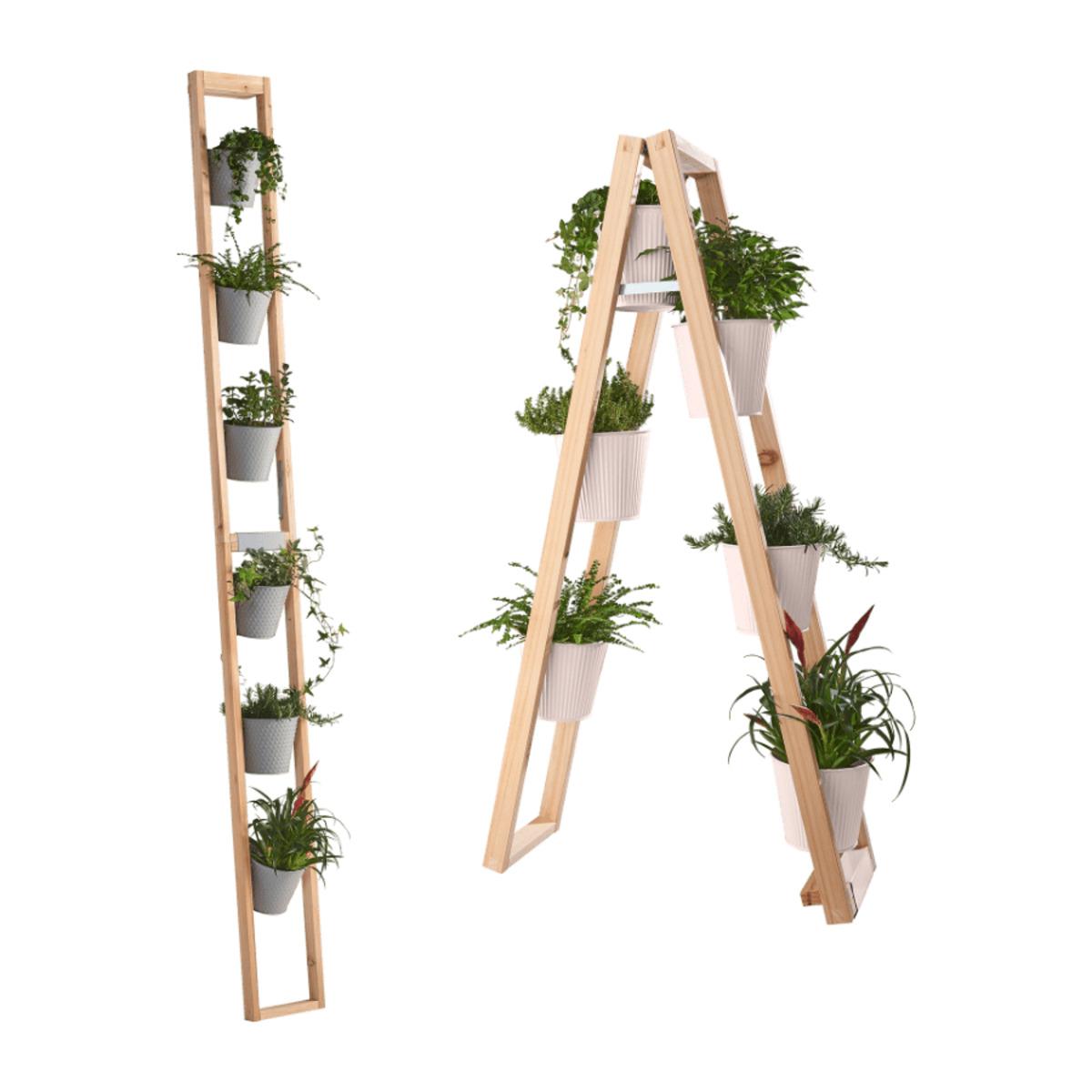 Bild 1 von LIVING ART     Blumen- und Pflanzenständer 2 in 1
