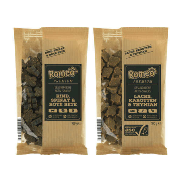 ROMEO     Premium-Aktiv-Snacks