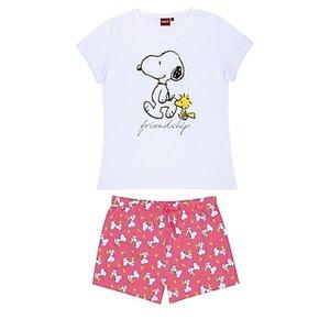 Damen Shorty Pyjama - versch. Lizenzen und Größen - Peanuts - Gr. XL