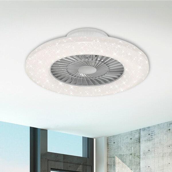 LED-Deckenleuchte mit Ventilator