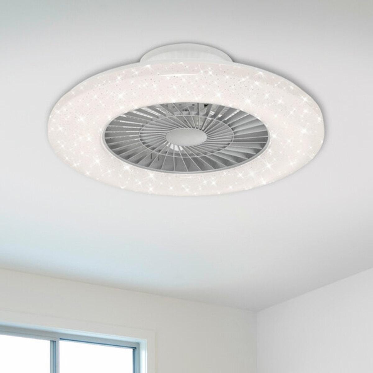 Bild 2 von LED-Deckenleuchte mit Ventilator