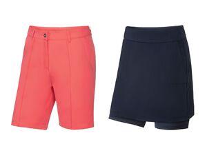 CRIVIT® Golf Shorts/ Skort Damen, mit kleinem Print
