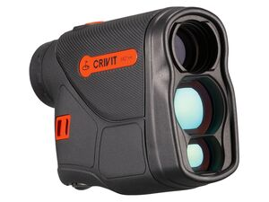CRIVIT® Laserentfernungsmessgerät,  6-fach Vergrößerung