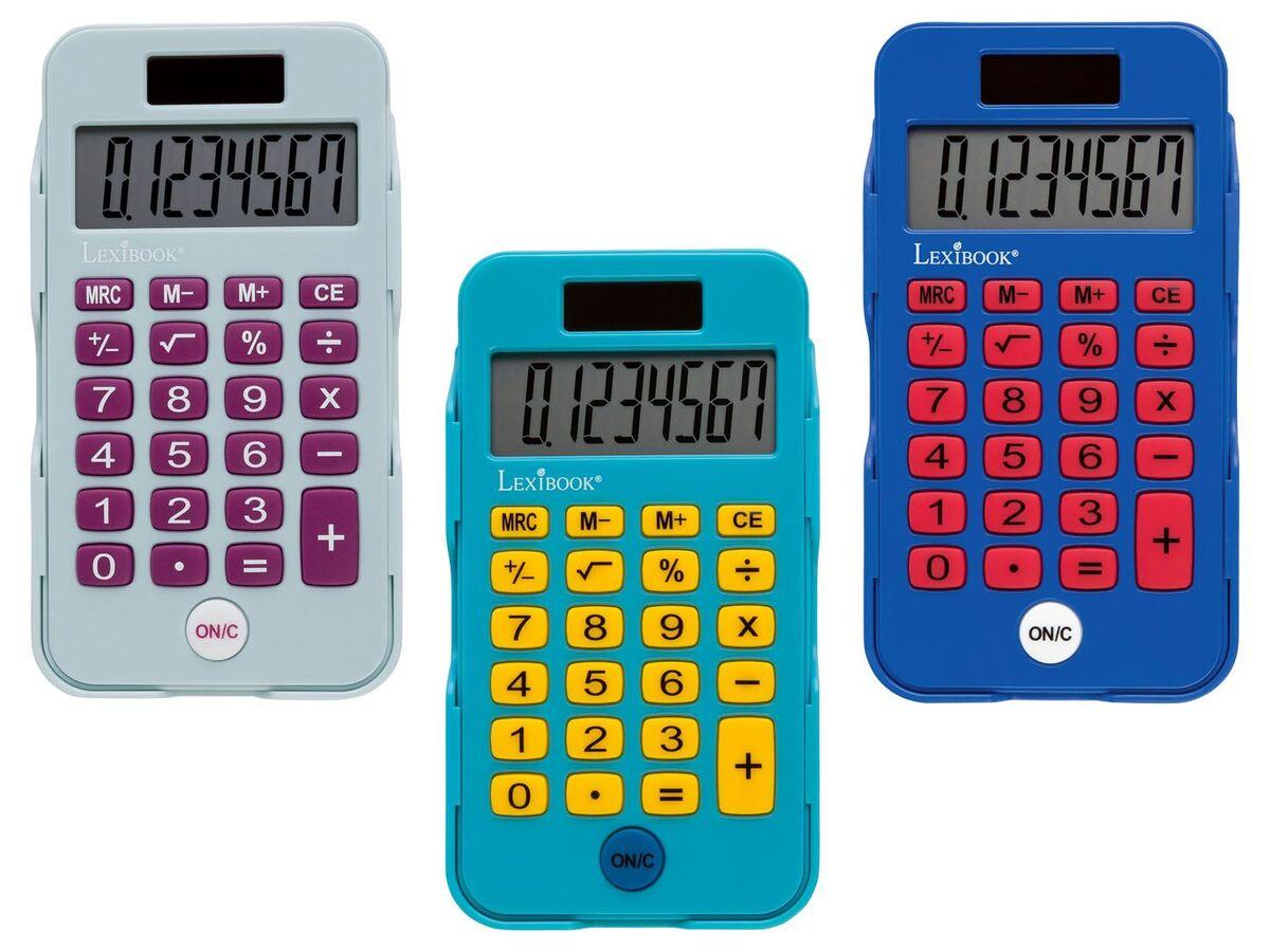 Bild 1 von LEXIBOOK Taschenrechner, Solarbetrieb