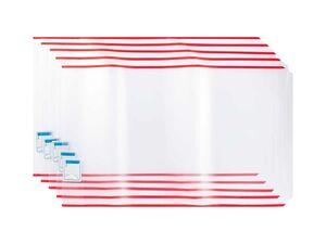 UNITED OFFICE® 5 Buchschutzhüllen
