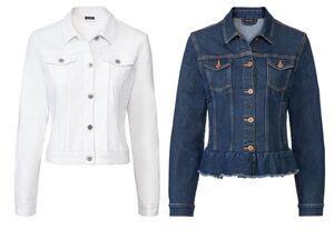 ESMARA® Jeansjacke Damen, leicht tailliert geschnitten