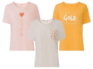 ESMARA® T-Shirt Damen, leicht tailliert geschnitten