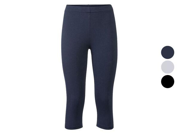 ESMARA® Leggings Damen, mit elastischem Bund