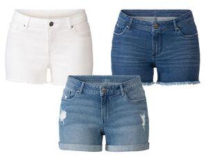ESMARA® Jeansshorts Damen, normale Leibhöhe