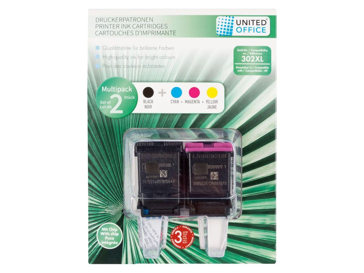 Bild 2 von UNITED OFFICE® Druckerpatronen HP, Multipack