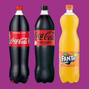 Sprite / Fanta / Coca Cola Erfrischungsgetränk