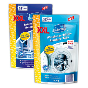 Saubermax Wasch-/ Spülmaschinen Reiniger Tabs