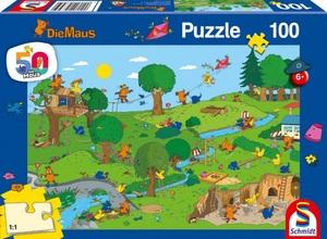 Schmidt Puzzle Die Maus Im Spielpark 100T