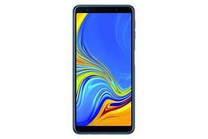 Samsung Galaxy A7 FHD Smartphone 15,36cm (6 Zoll) A750F , Dual-SIM, 64GB, 24 Megapixel, Farbe: Blau