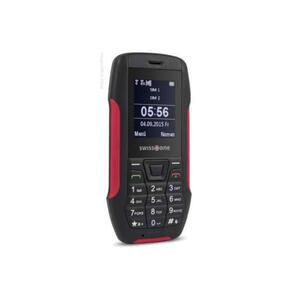 swisstone SX 567 Dual-SIM-Outdoorhandy rot | Spritzwasserschutz IP56