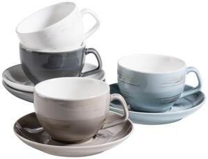Kaffeetasse Derby aus Porzellan, 8-teilig