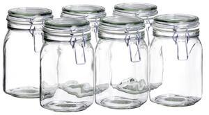 Einmachglas-Set Gothika ca. 1,05l, 6-teilig