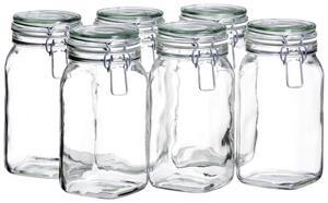 Einmachglas-Set Gothika ca. 1,45l, 6-teilig