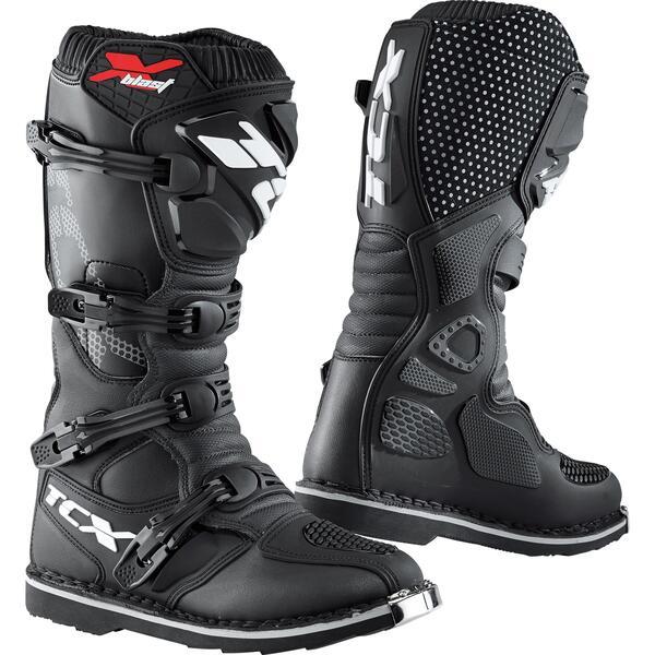 TCX X-Blast Stiefel Motorradstiefel schwarz Herren Größe 43