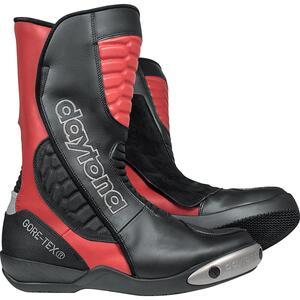 Daytona Boots Strive GTX Sportstiefel Motorradstiefel rot Unisex Größe 47
