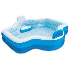 Pool - Family Elegant - weiß-blau