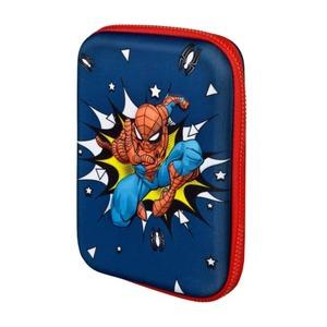 Spiderman - 3D-Federmäppchen - 17-teilig